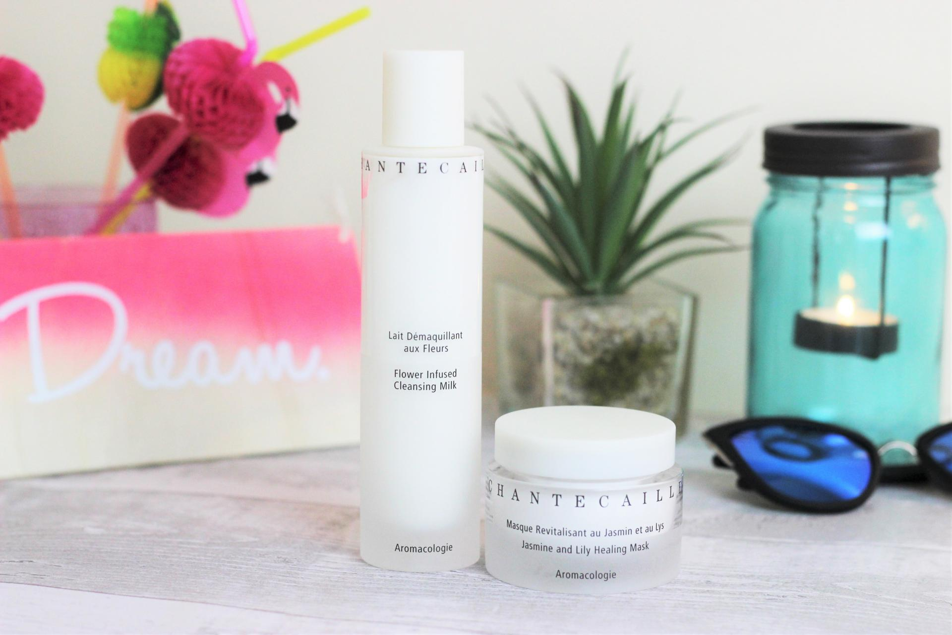 Chantecaille Skin Care Space NK |Flower Infused Cleansing Milk Jasmine Lily Healing Mask