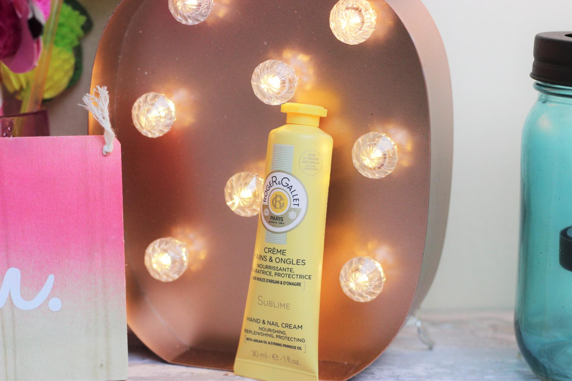 My Handbag Essentials Roger and Gallet hand cream sublime