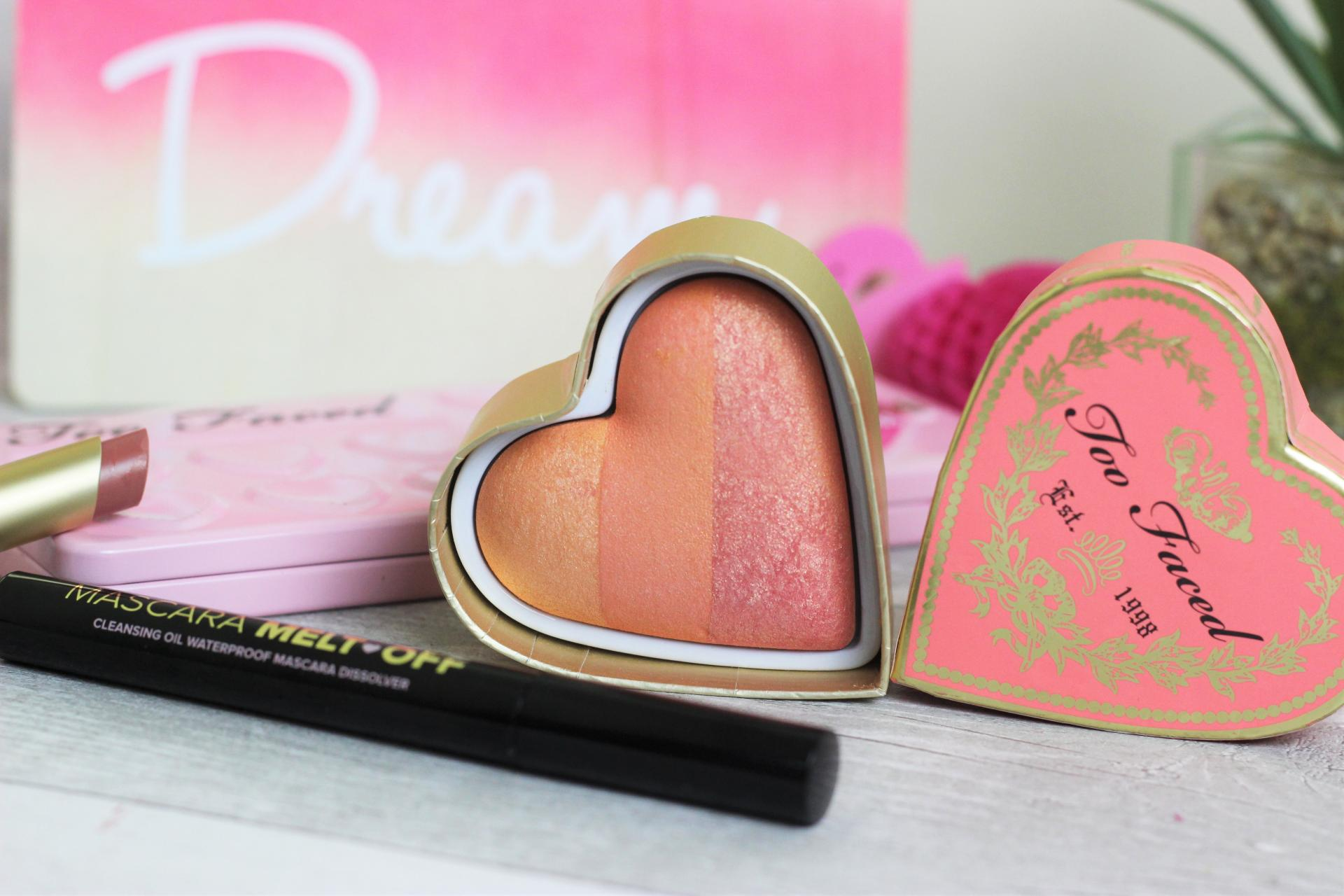 Too Faced Sweetheart and Love Flush Blushes