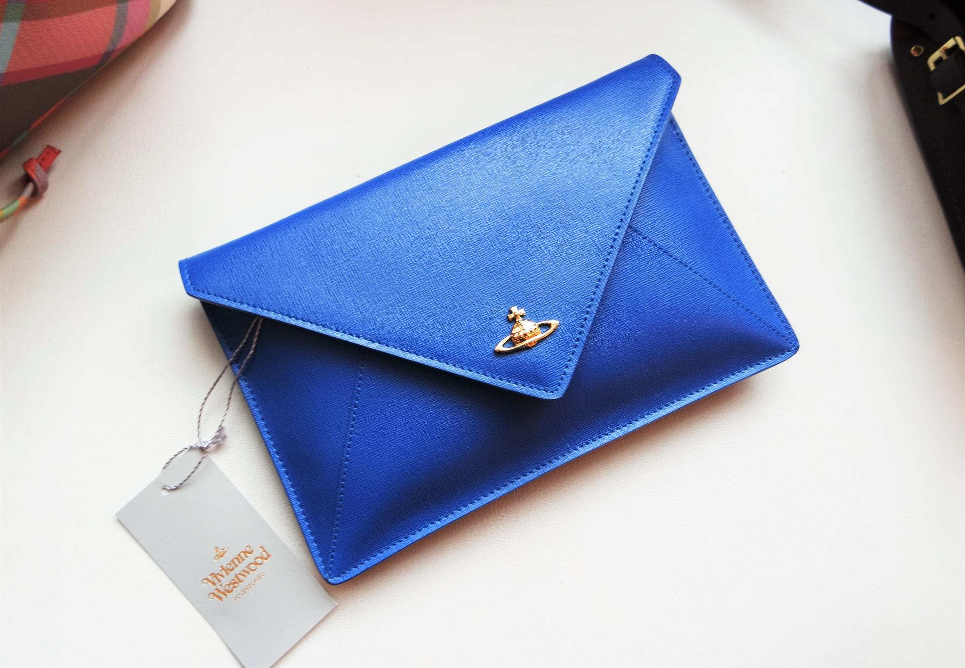 Celebrating 10 Years of Country Attire Vivenne Westwood Bluette Envelope Pouch