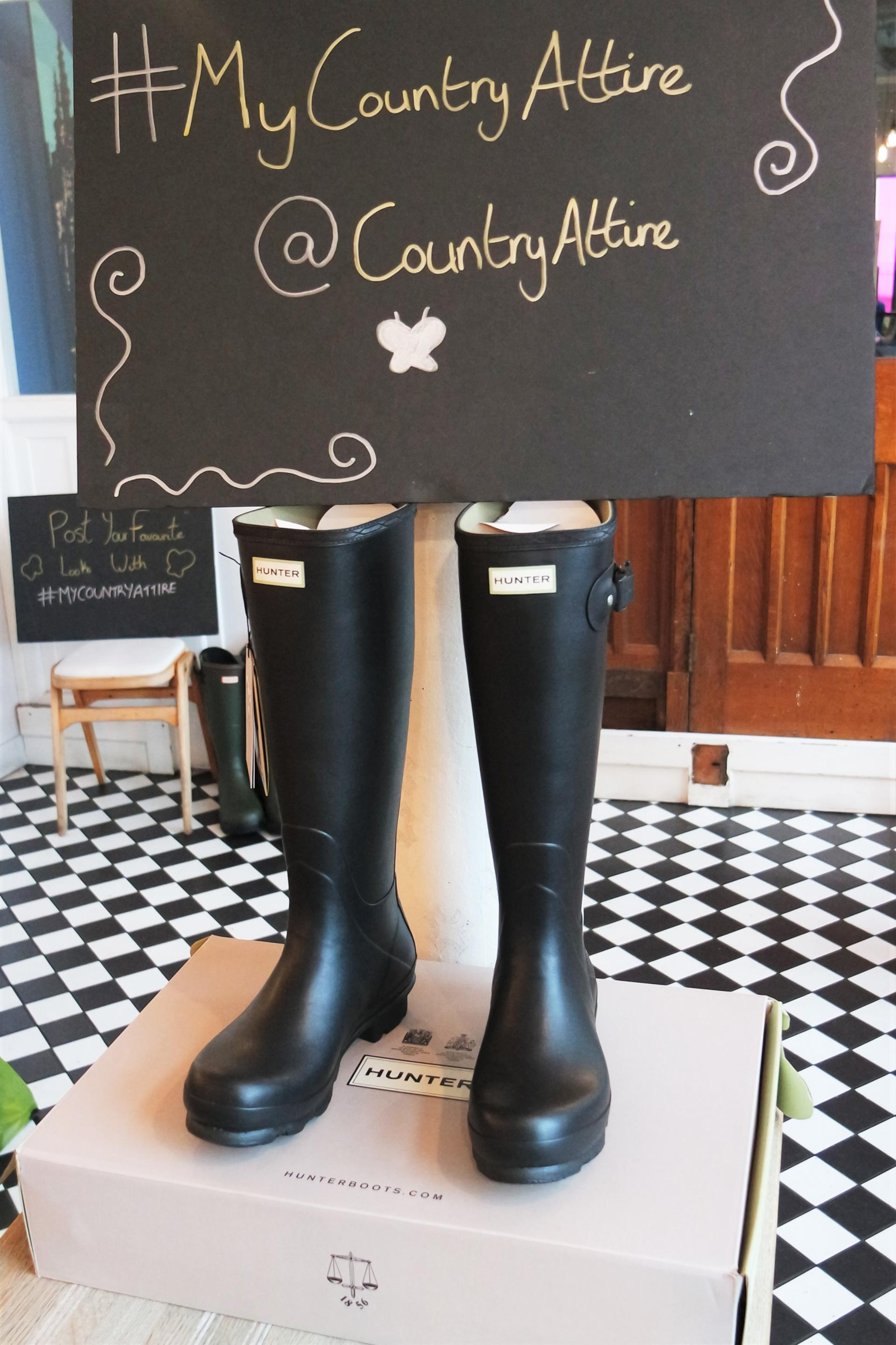 Celebrating 10 Years of Country Attire Hunter Wellies