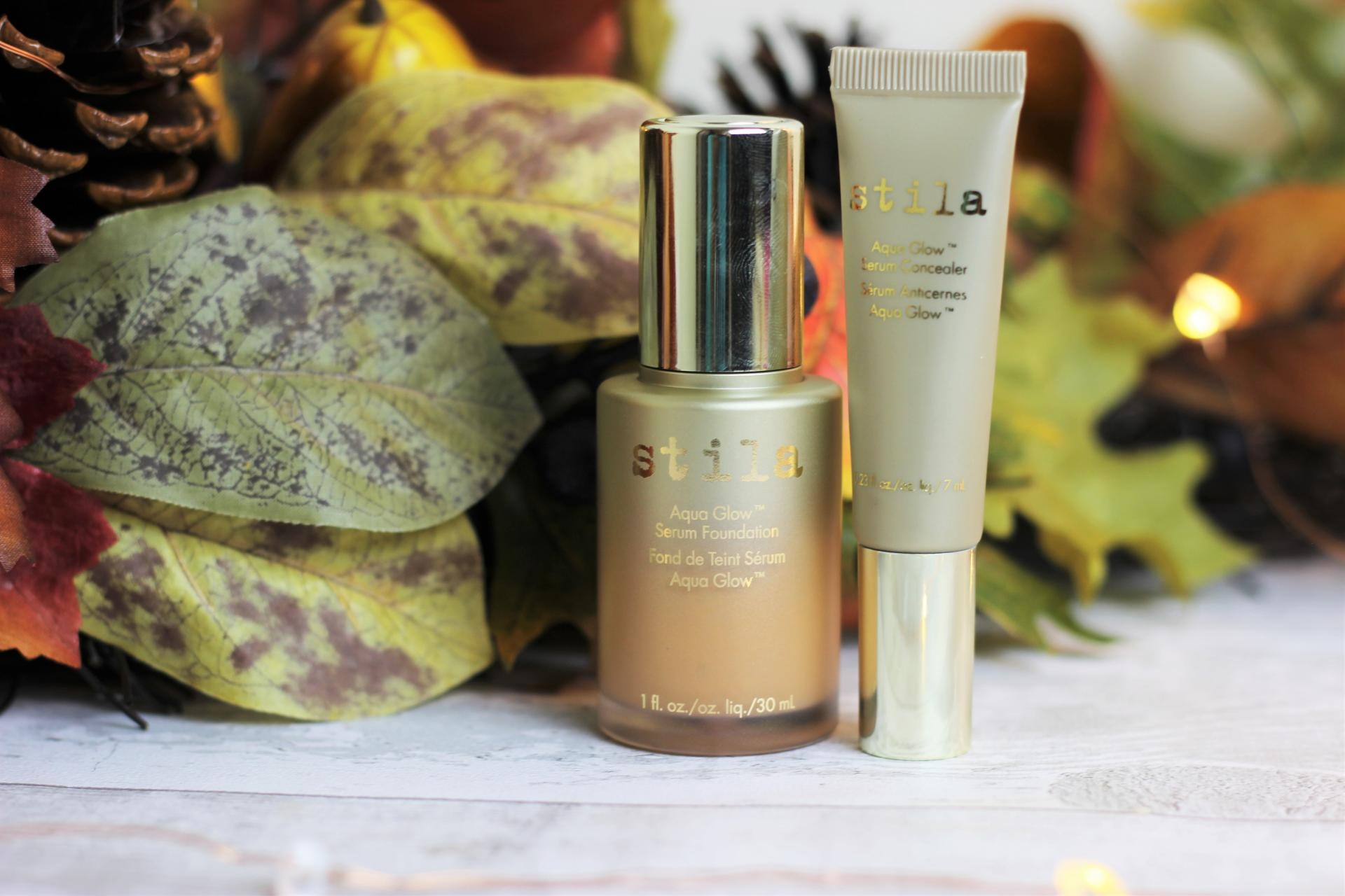 Stila Aqua Glow Foundation and Concealer