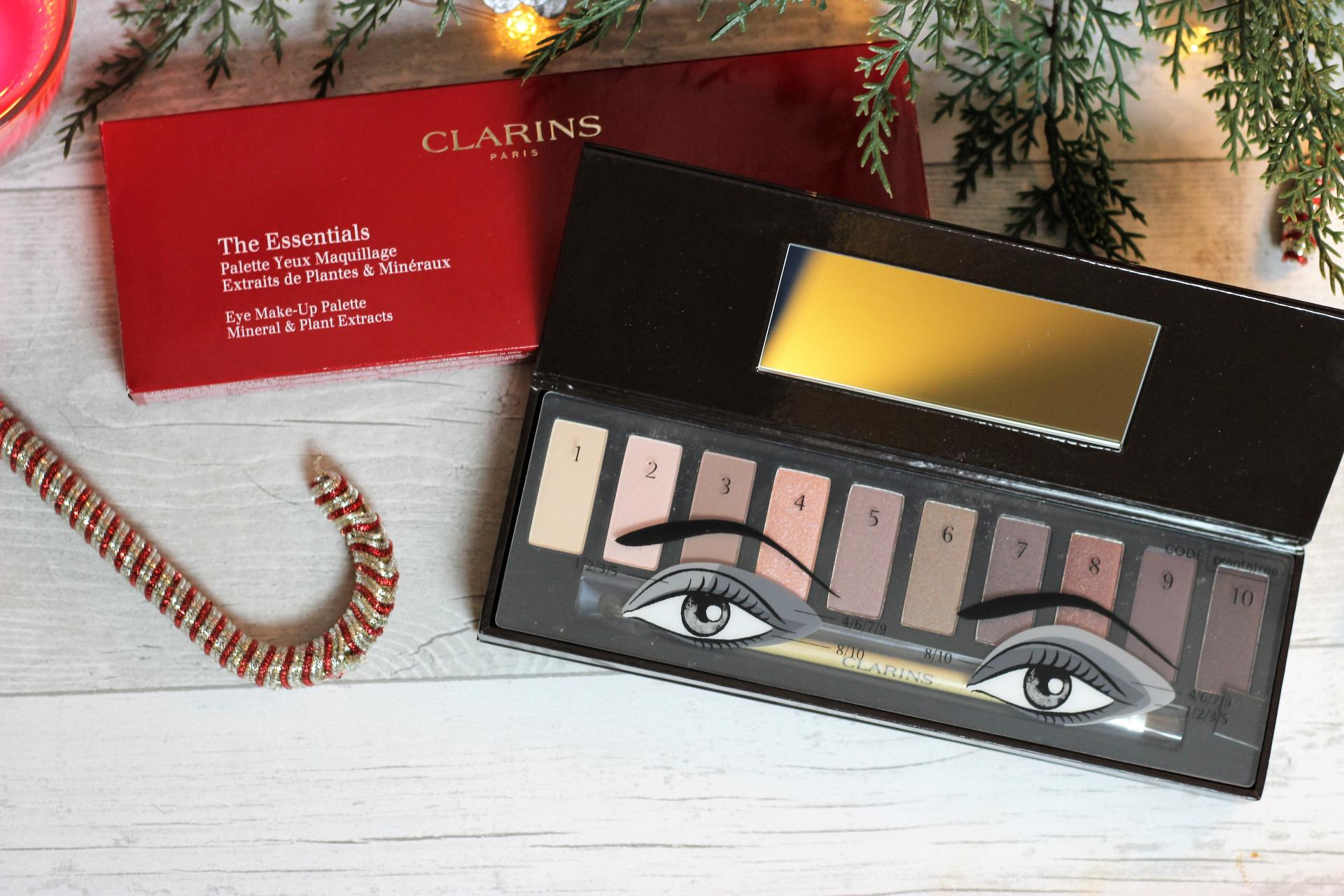 Clarins Festive Eye Palette 2016