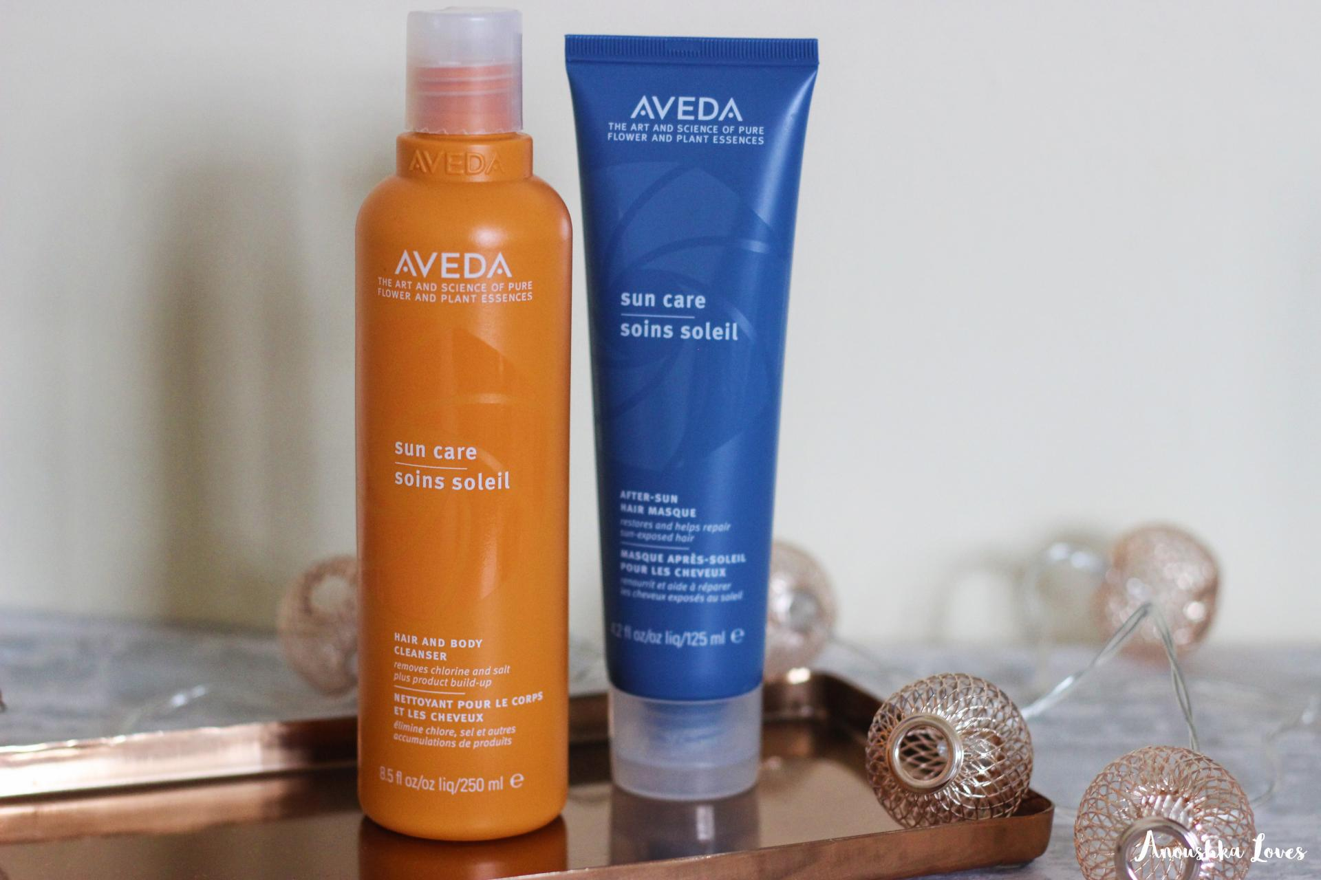 Why Is My Hair So Thin! Aveda Sun Care Hair and Body Cleanser Hair Masques