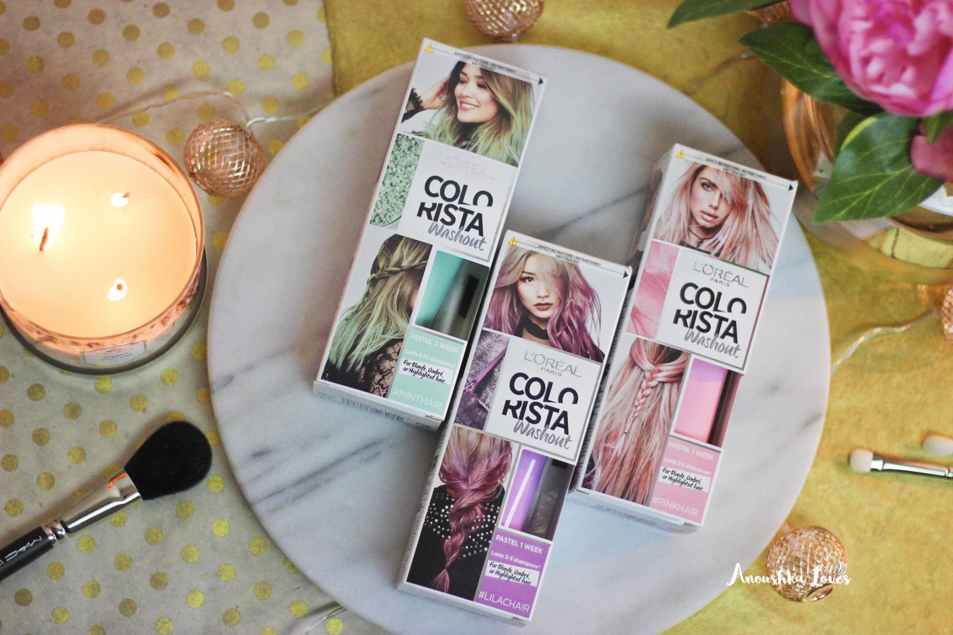 L'Oreal Colorista 1-2 Week Colours