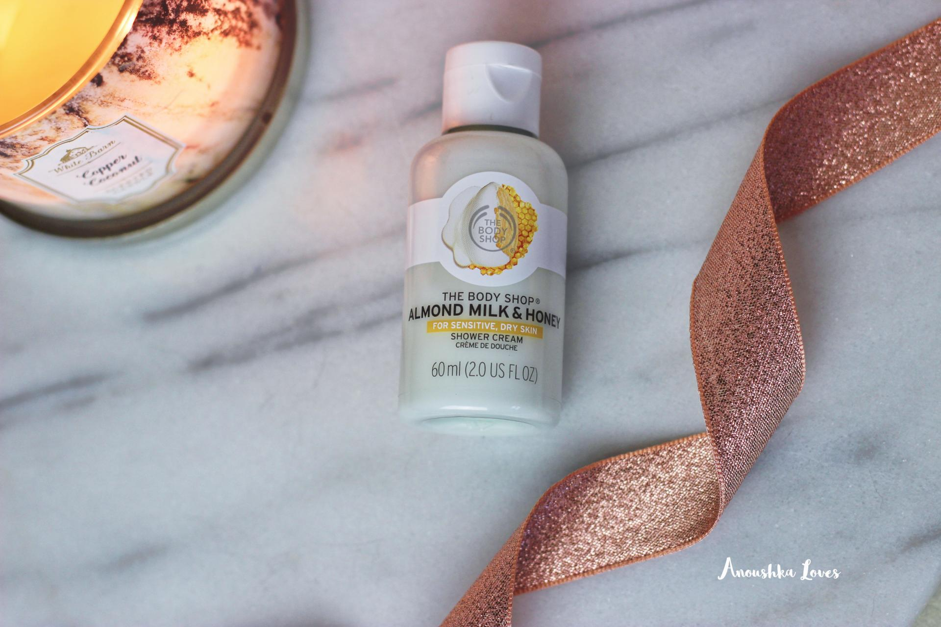 The Body Shop Almond Milk and Honey Collection