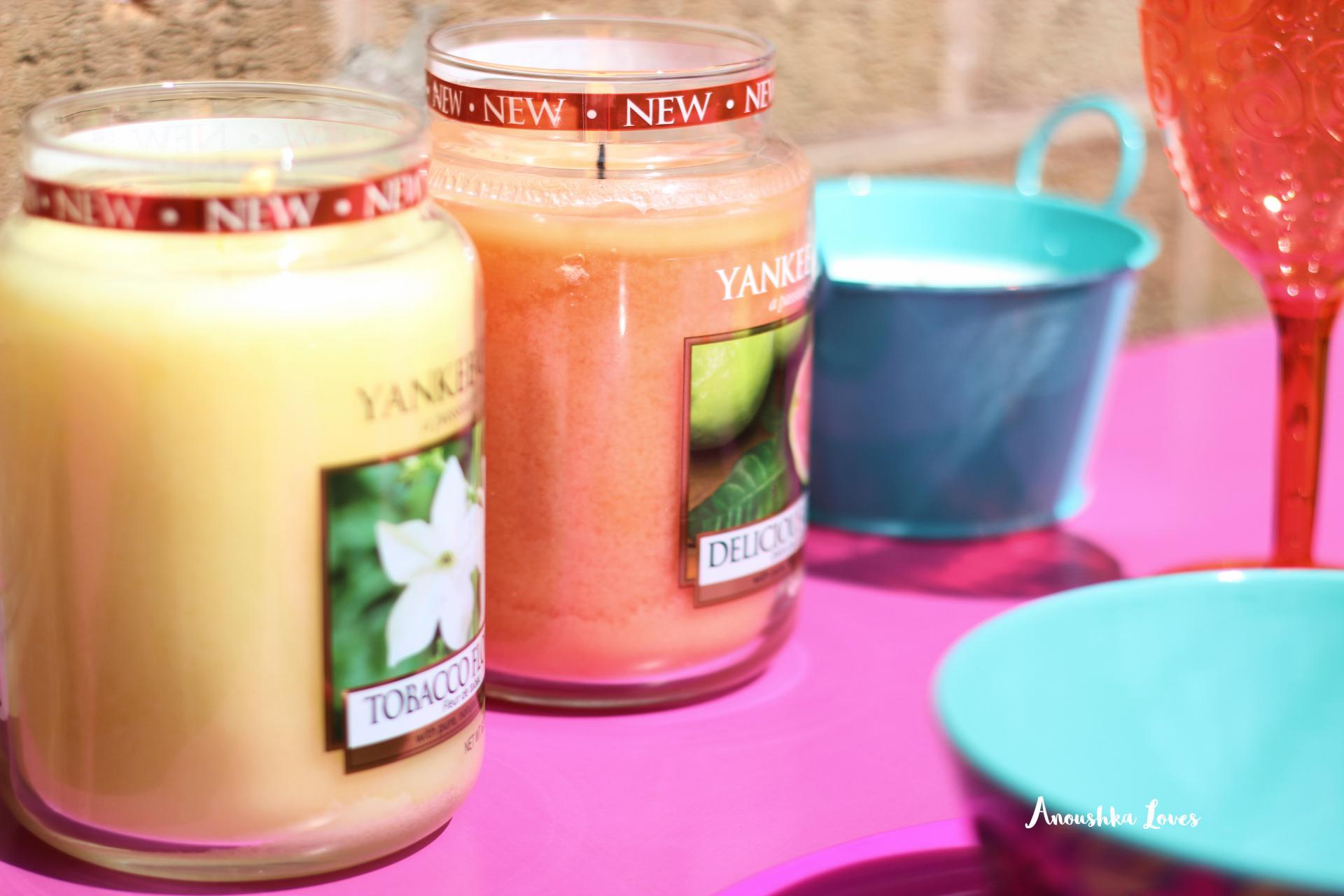 A Cuban Festival Garden Party with Yankee Candle