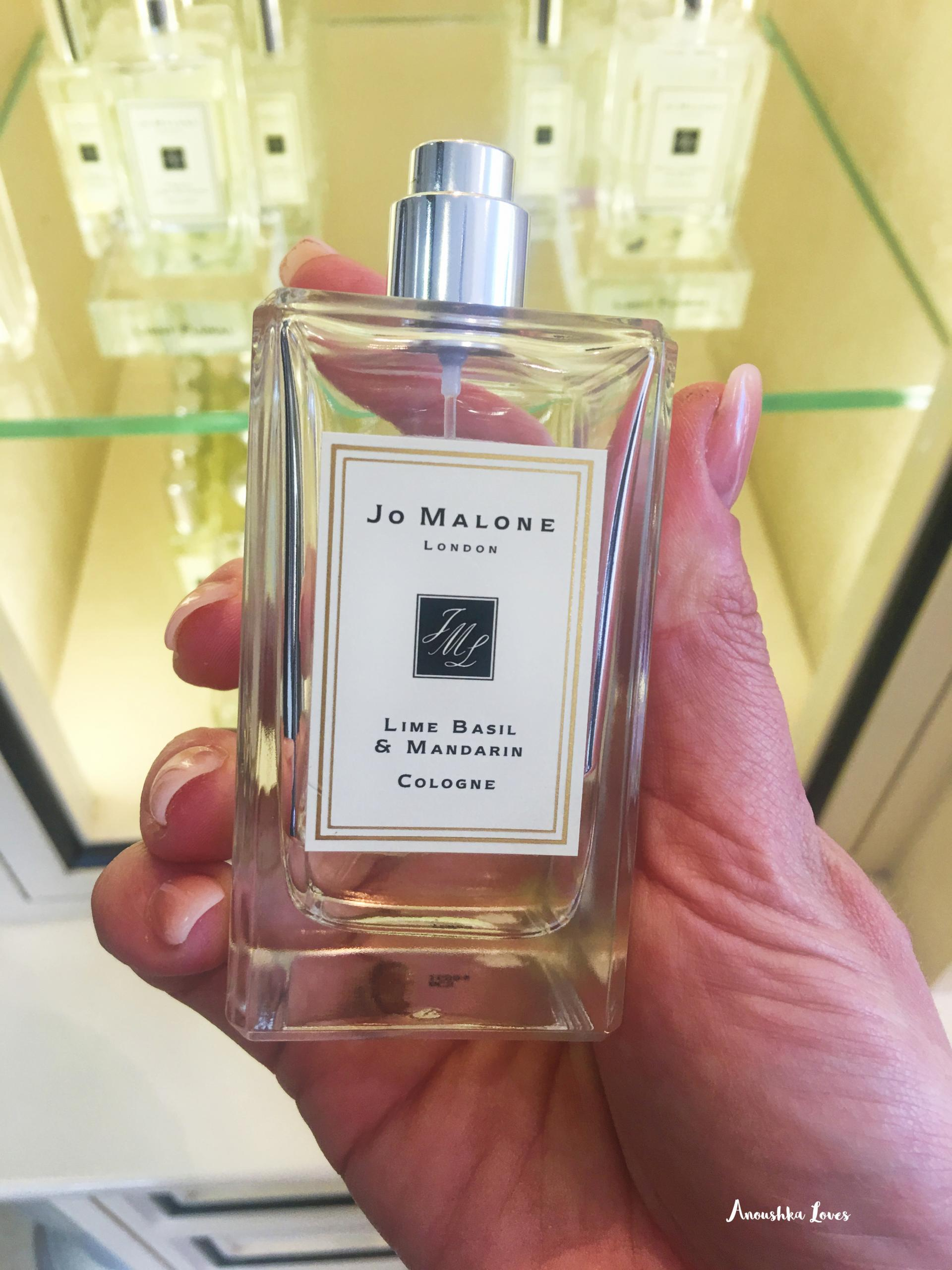 Luxury Fragrance Wishlist Jo Malone Lime Basil Mandarin