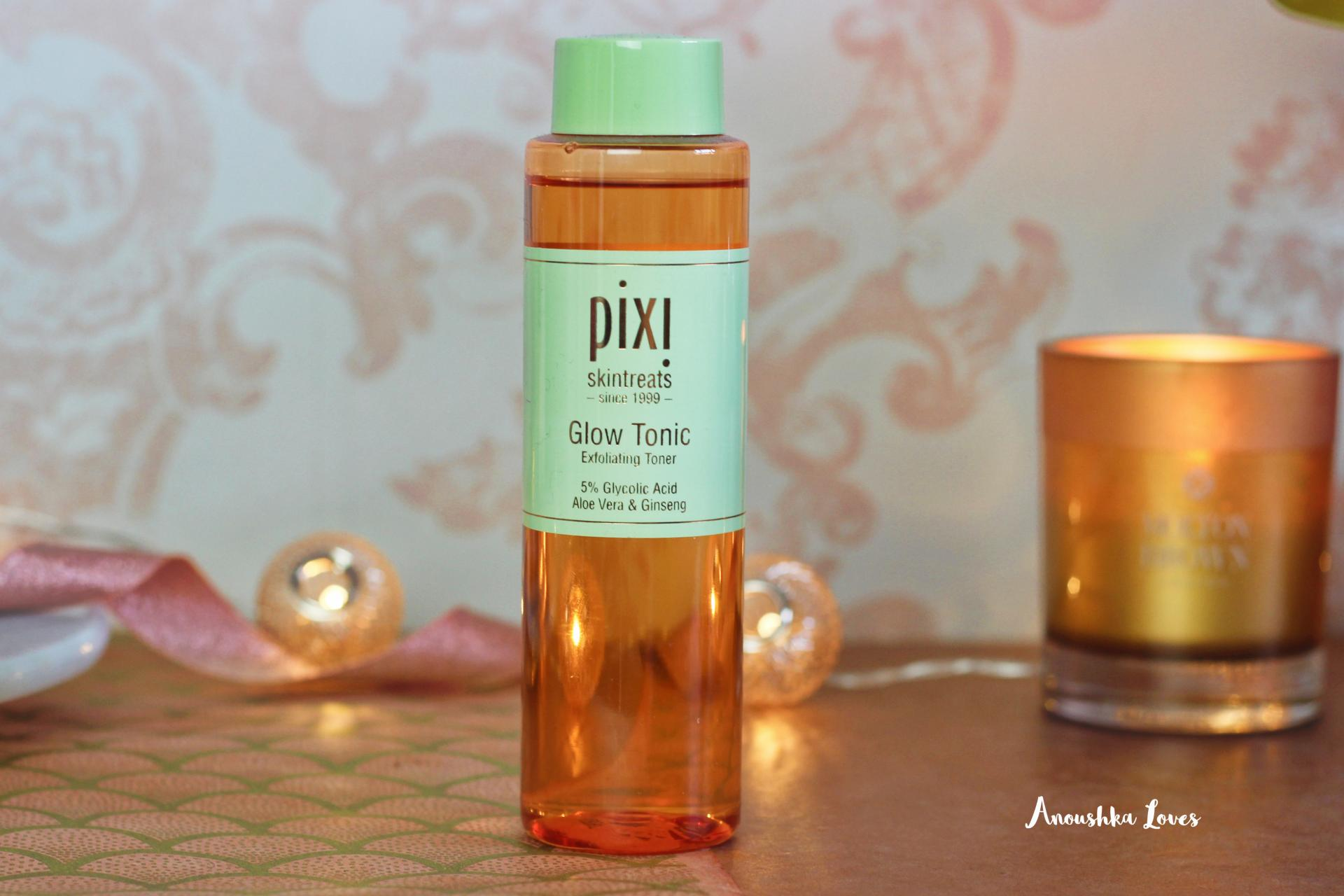 On the Bathroom Shelf - Summer Skincare Pixi Glow Tonic