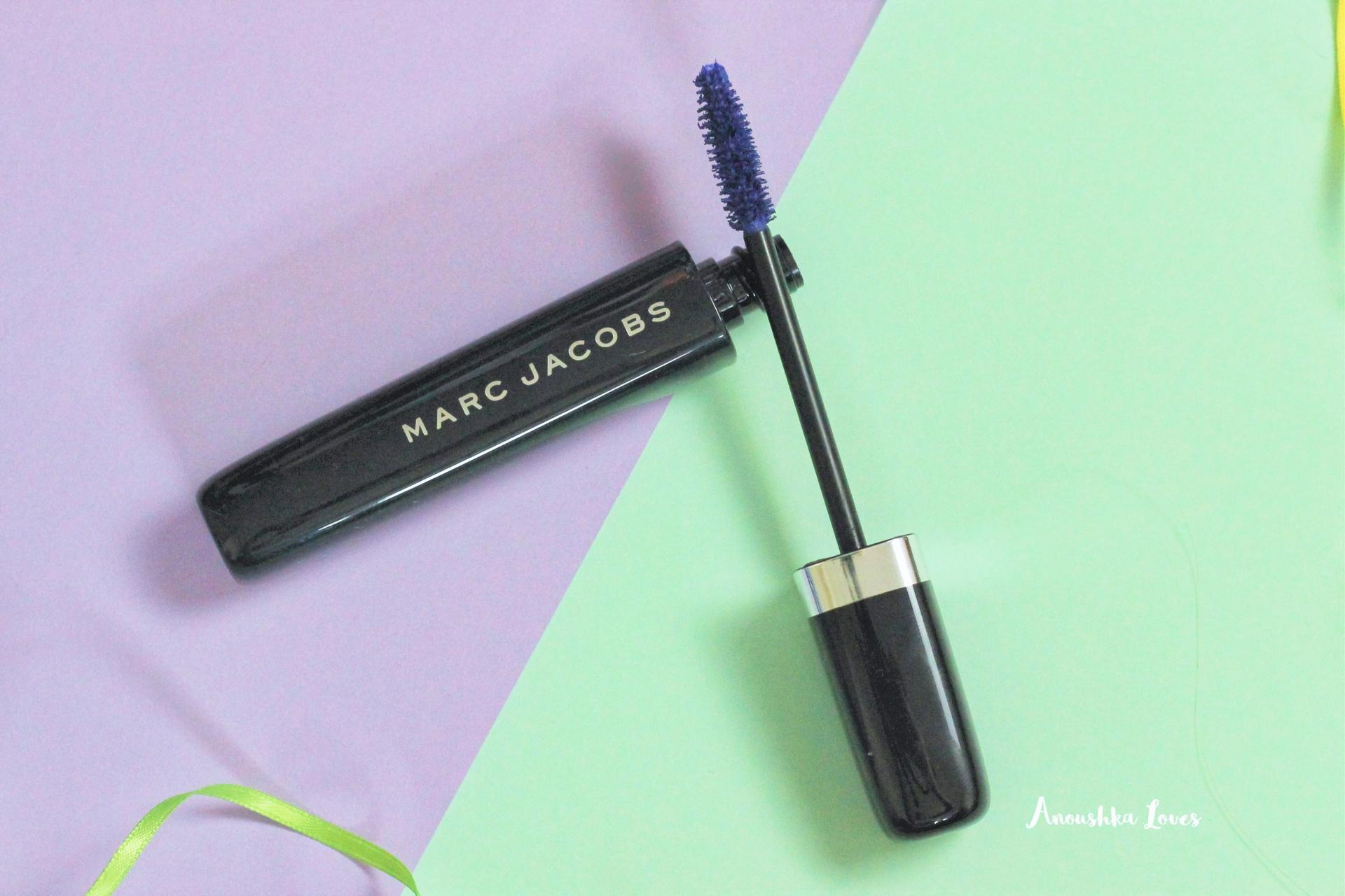 For the Love of Colour - Coloured Mascaras Marc Jacobs O!Mega Lash Peacock Think Ink All ABout Yves