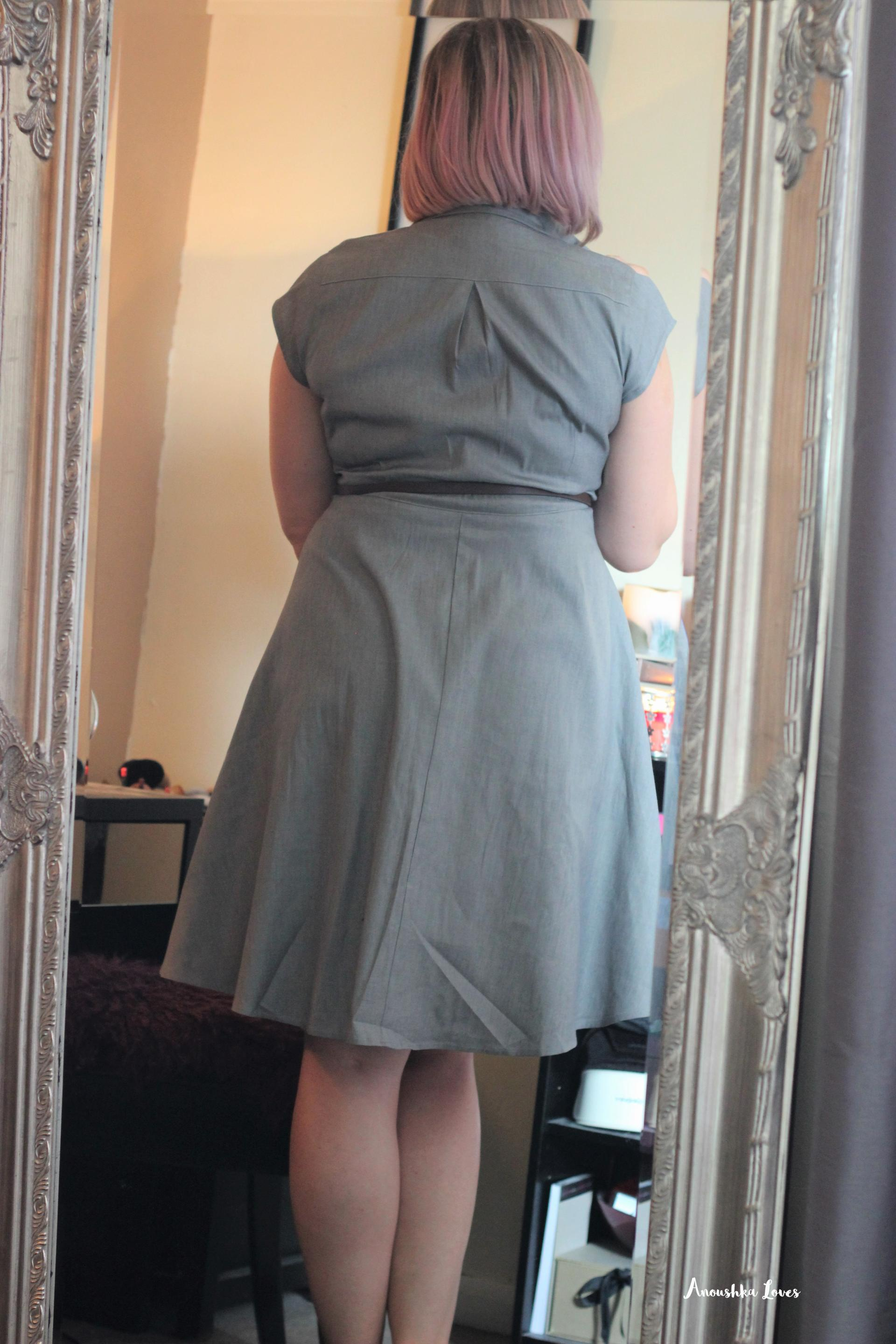 Girl In The Mirror - The Chambray Dress from Two for Joy