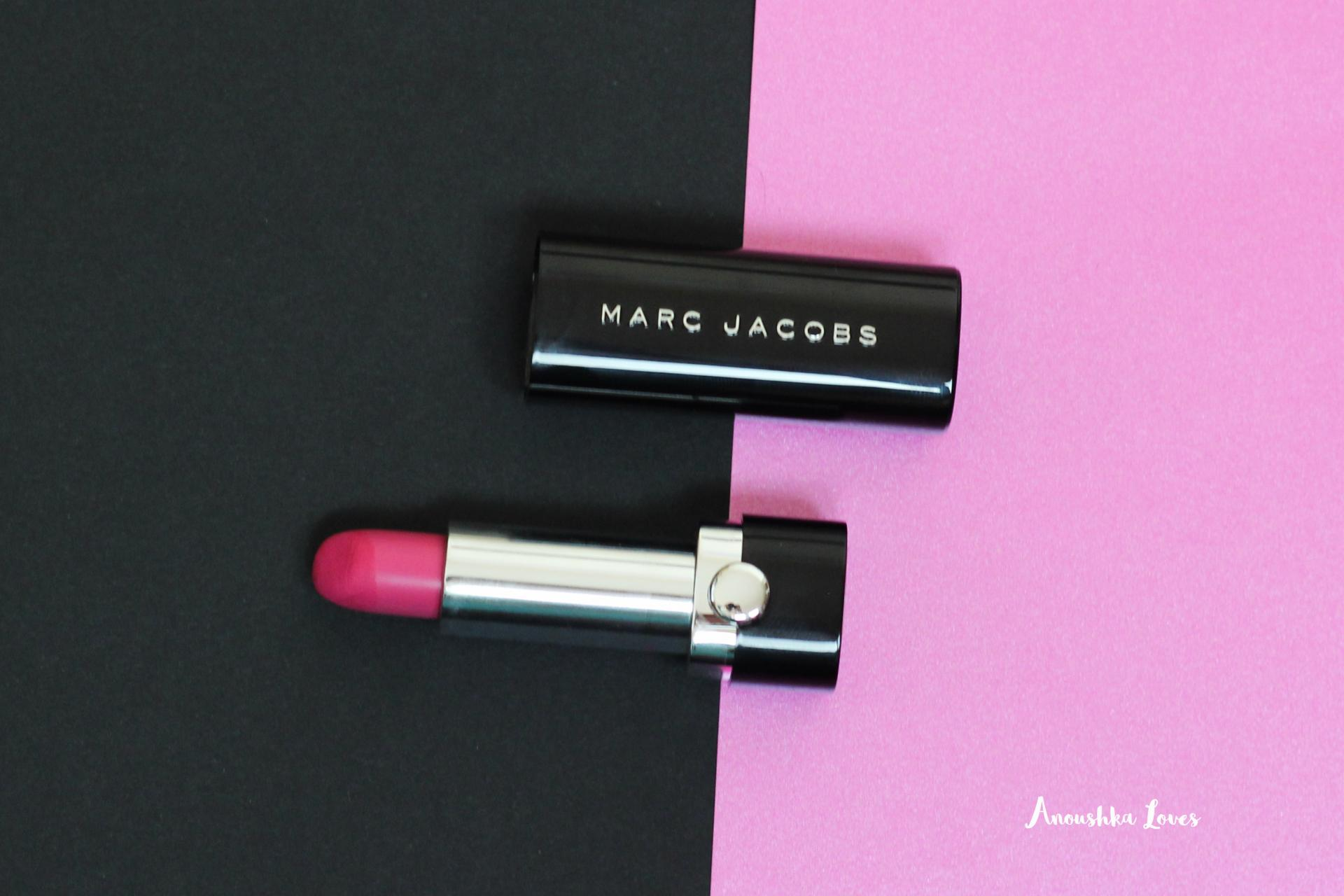 Marc Jacobs Beauty x Lady Gaga Coachella Inspired Makeup le marc lip creme Clara