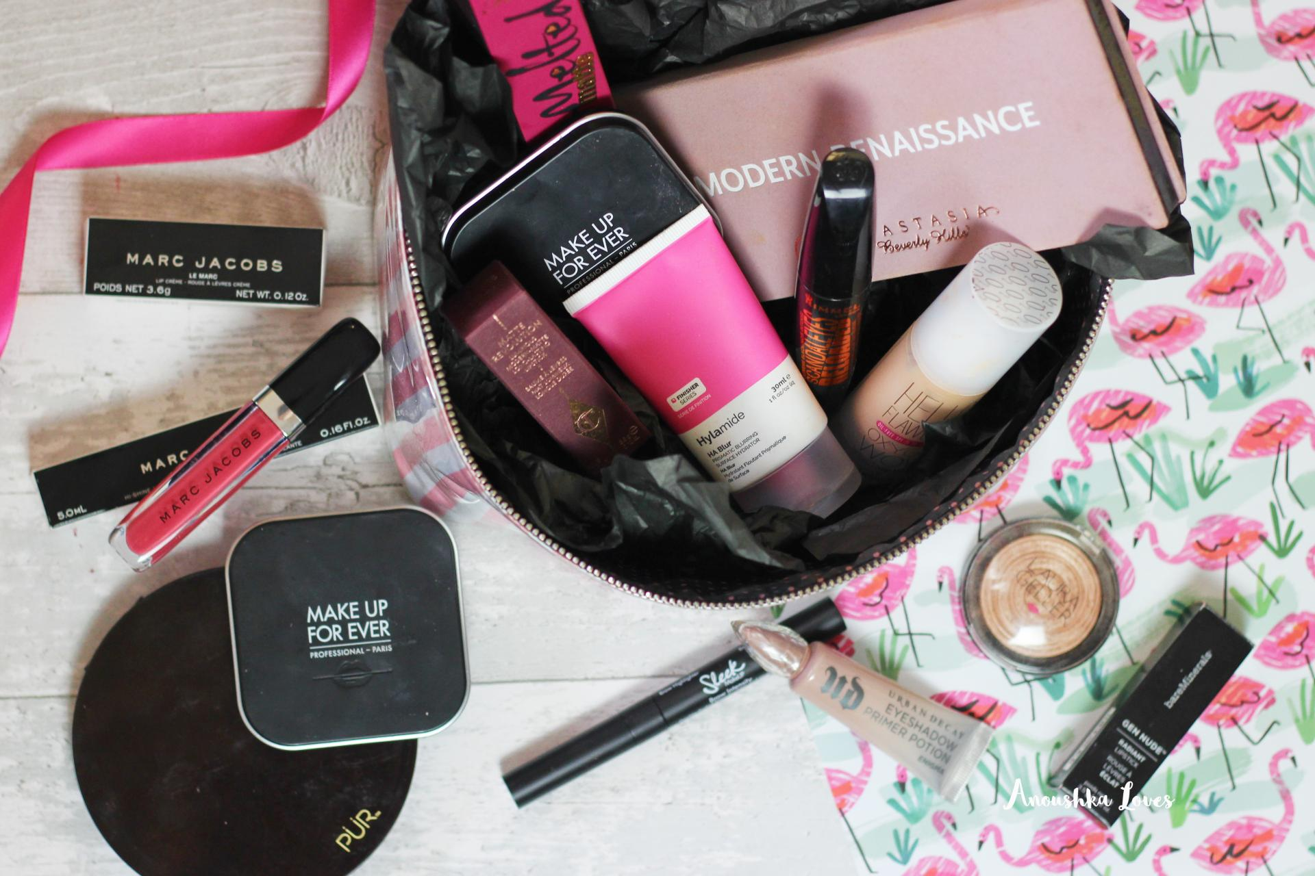 The Holiday Makeup Bag Part One