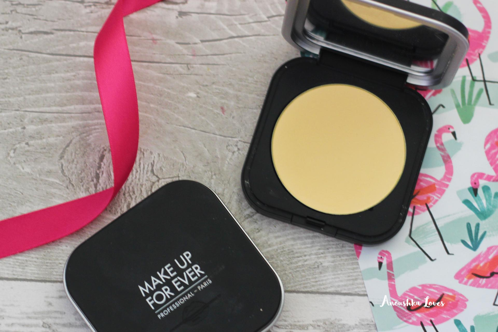 The Holiday Makeup Bag Part One Make Up For Ever Ultra HD Micro Finishing Pressed Powder Banana