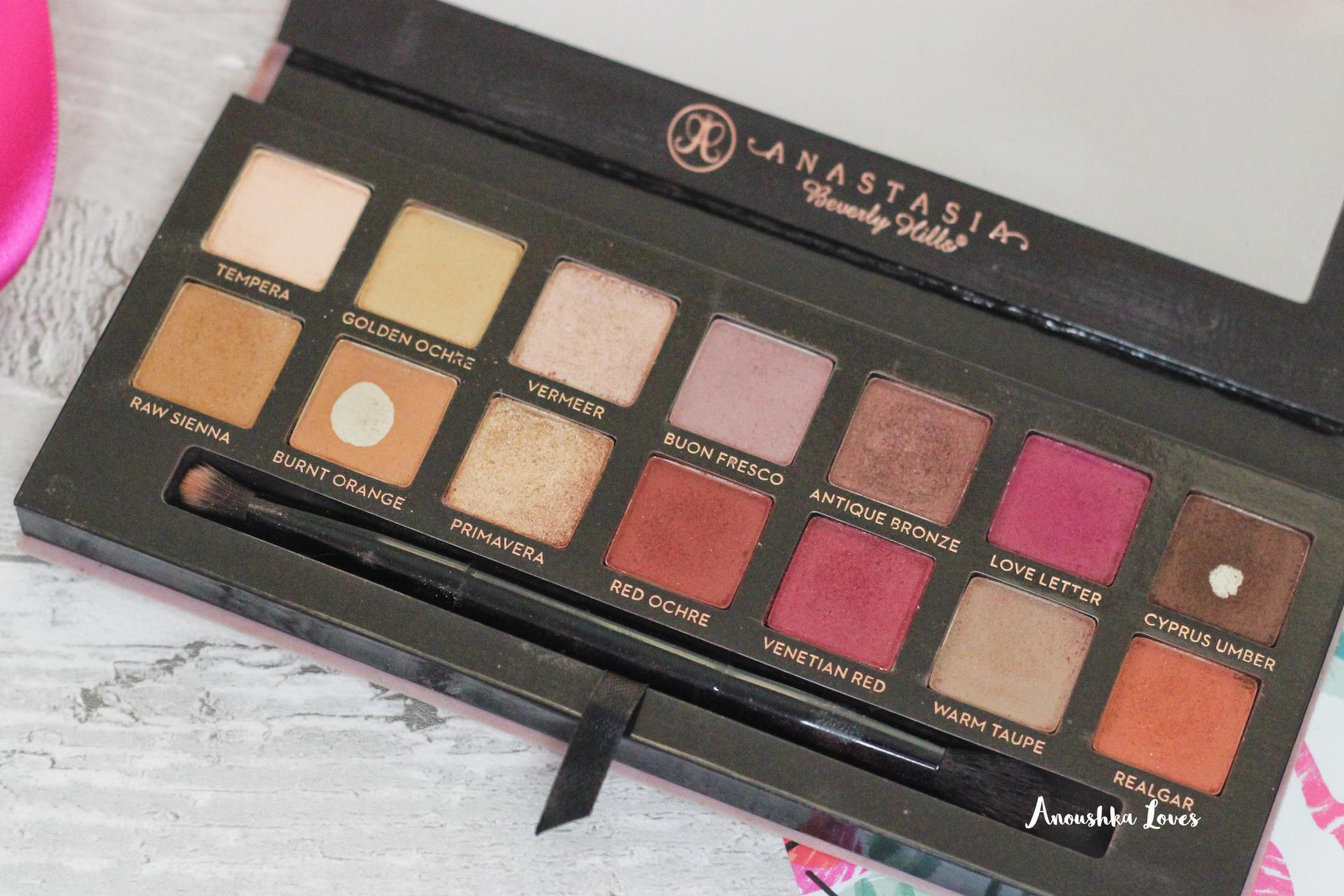 The Holiday Makeup Bag Part One Modern Renaissance Palette Anastasia Beverly Hills