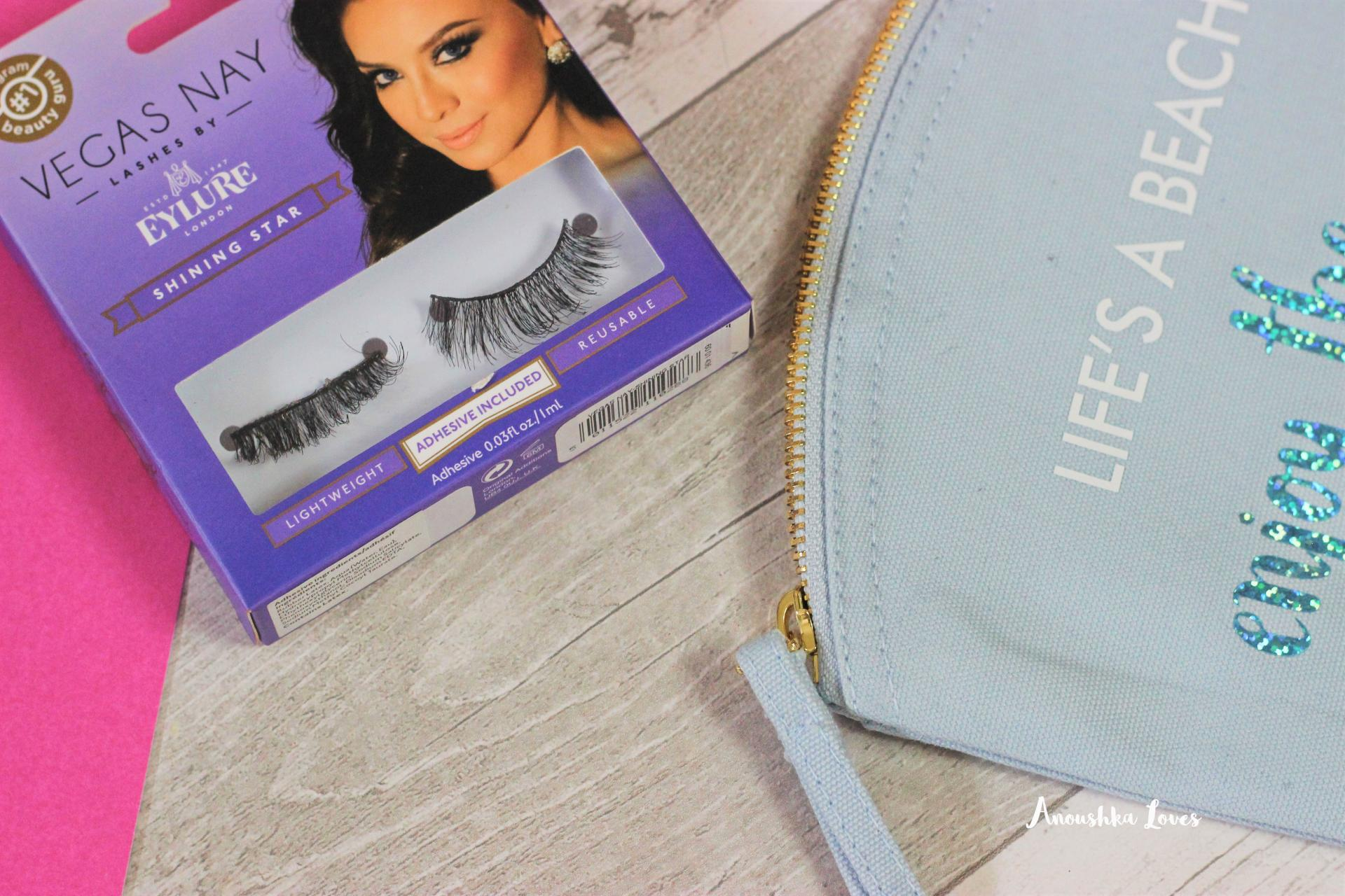 The Holiday Makeup Bag Part Three - Tools! False Eyelashes Nouveau Lashes Natural 2 House of Lashes Iconic Eylure Vegas Nay Shining Star Lashes