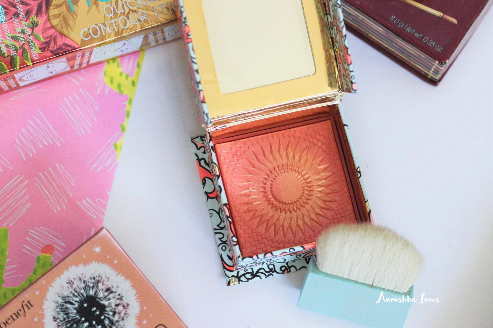 The Summer Face with Benefit Cosmetics Galifornia Blusher