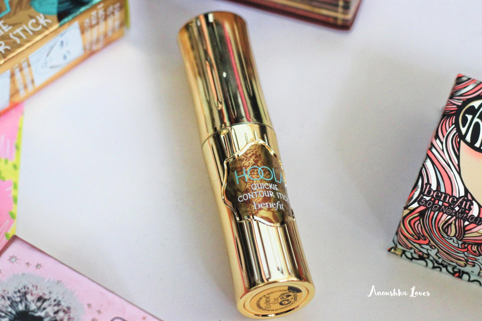 The Summer Face with Benefit Cosmetics Hoola Quickie Contour Stick