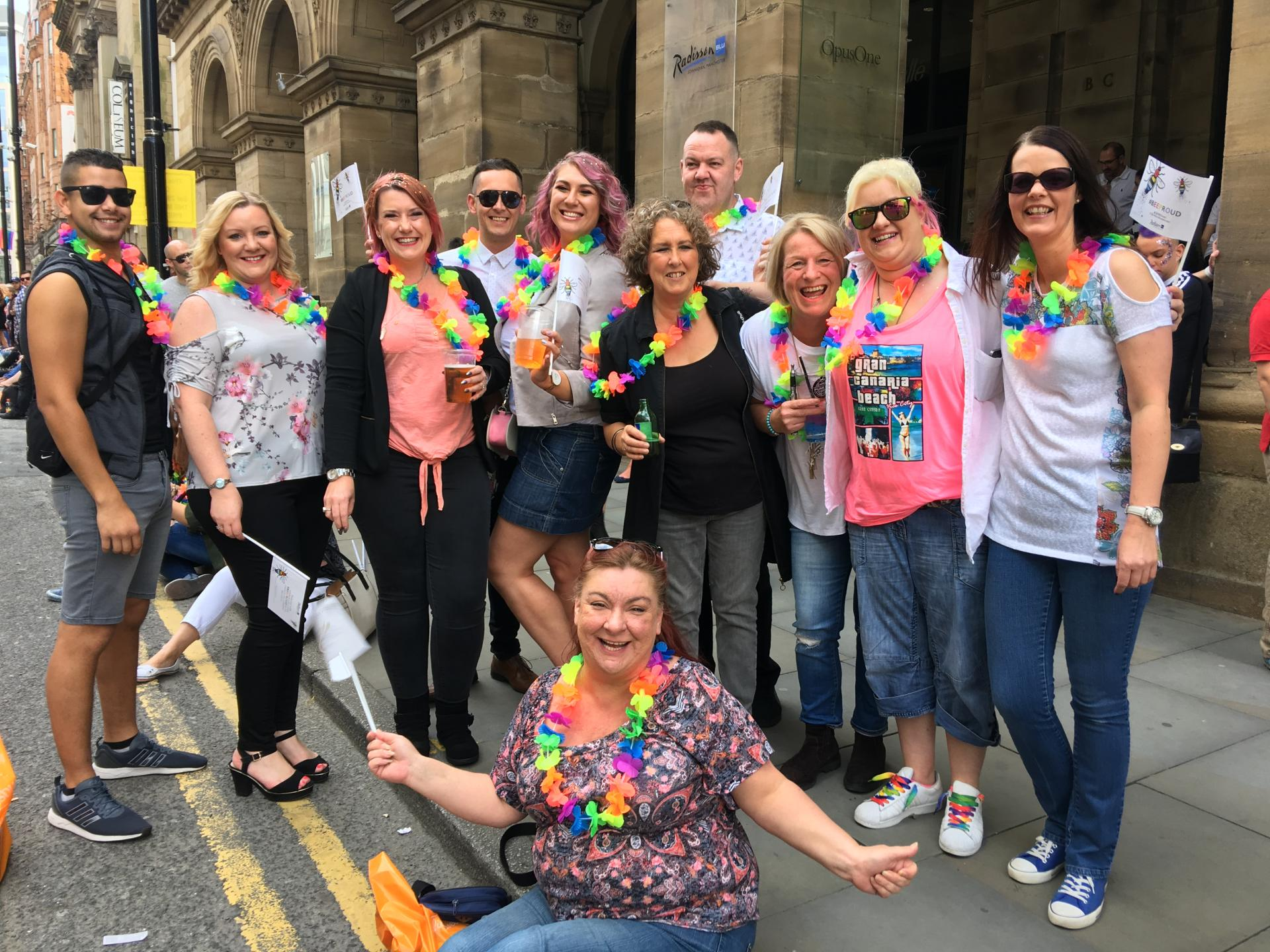 Raving with Rennie - Manchester Gay Pride 2017