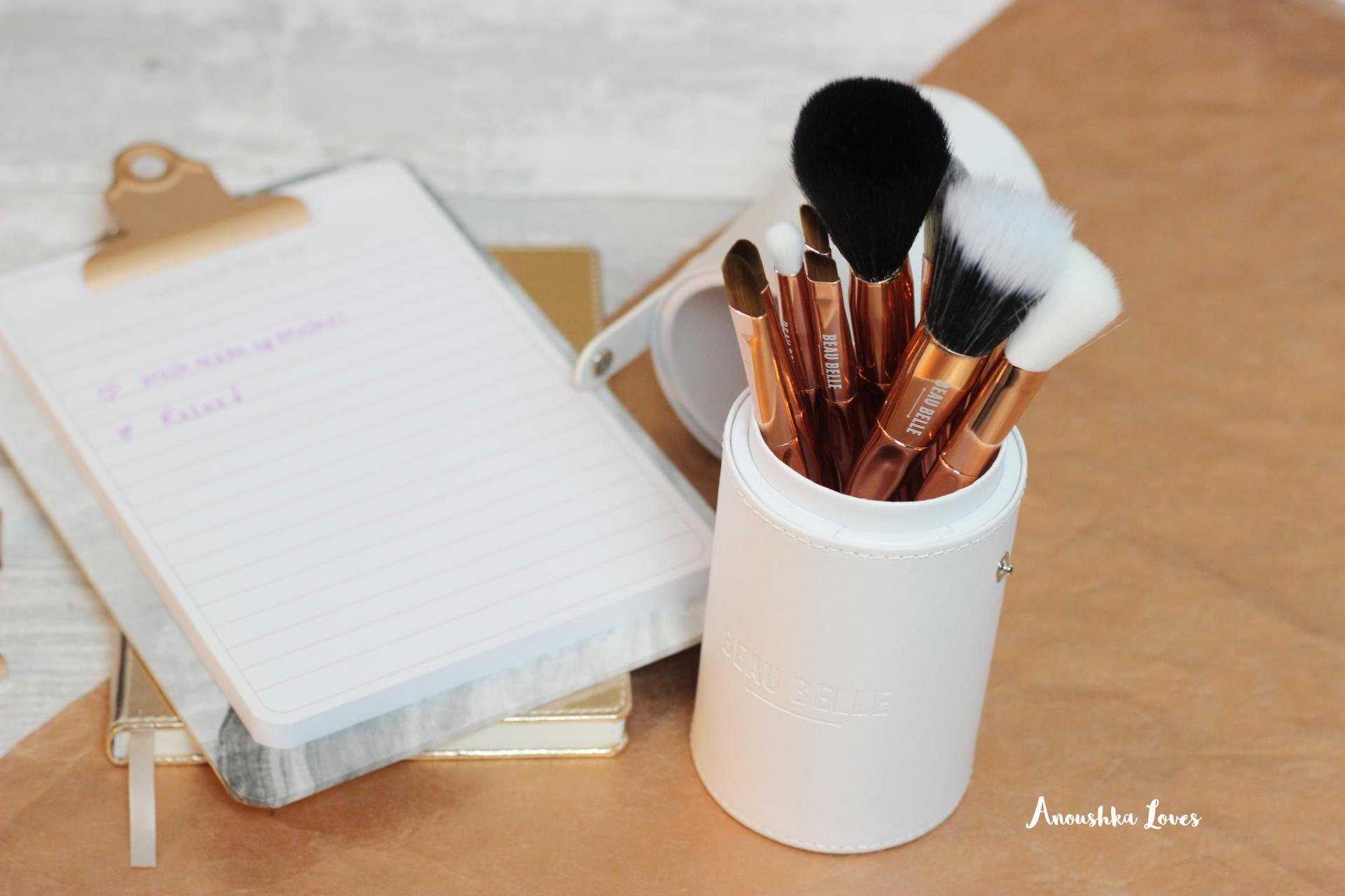 Beau Belle Limited Edition Rose Gold Brush Set