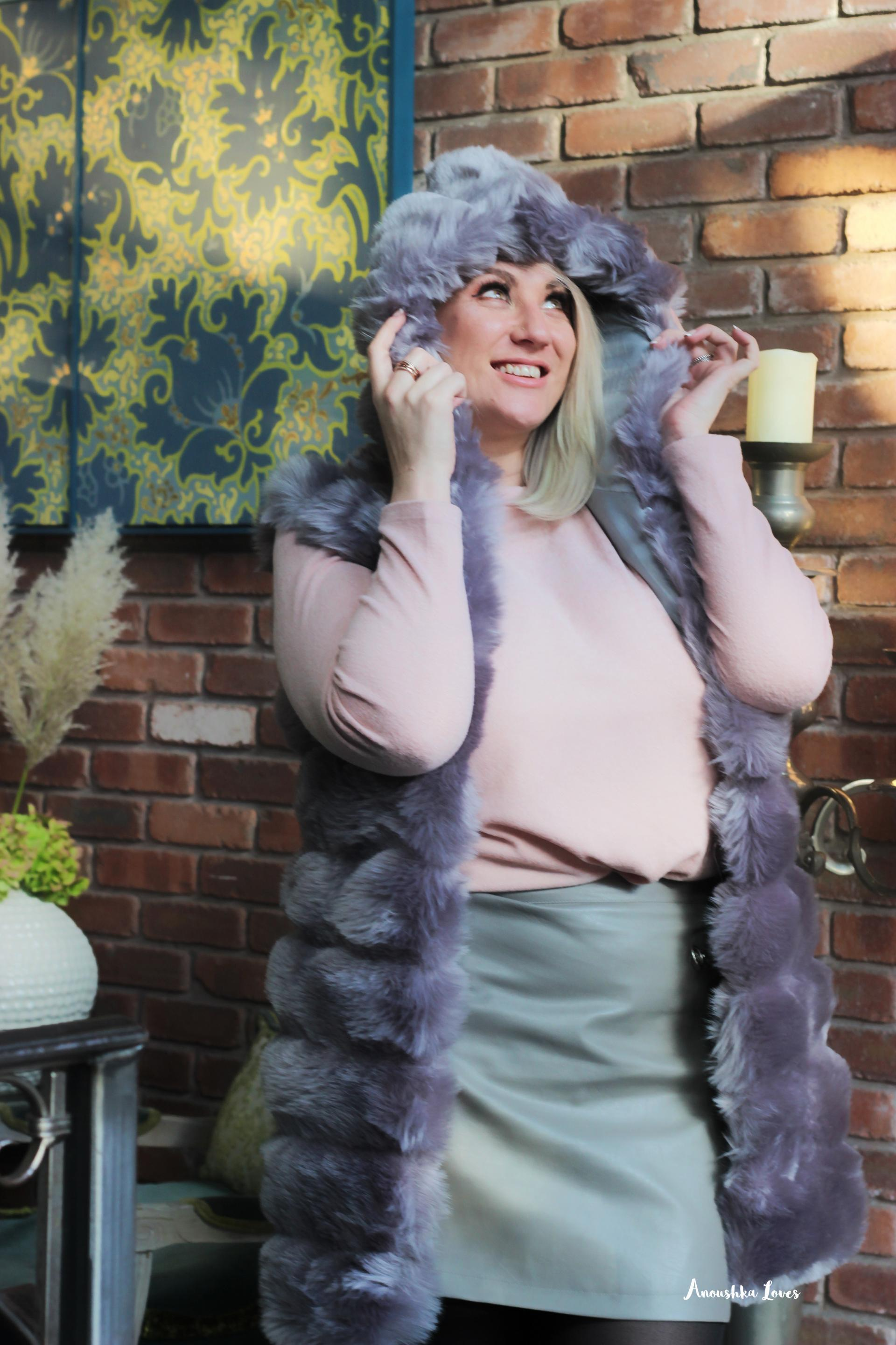 A Faux Fur Fashion Tale
