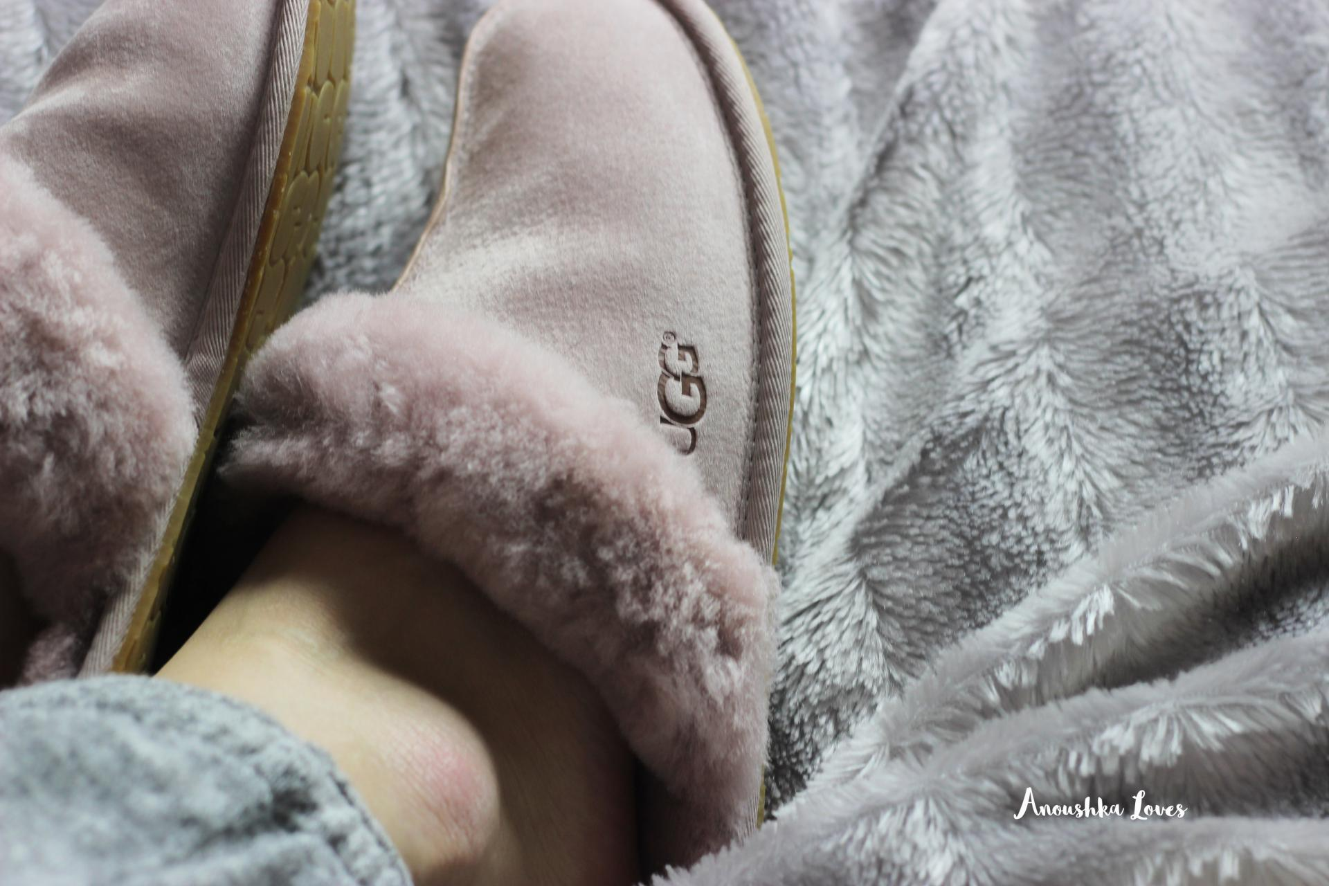 Happiness planner pour moi grey marl loungewear Ugg scuffette
