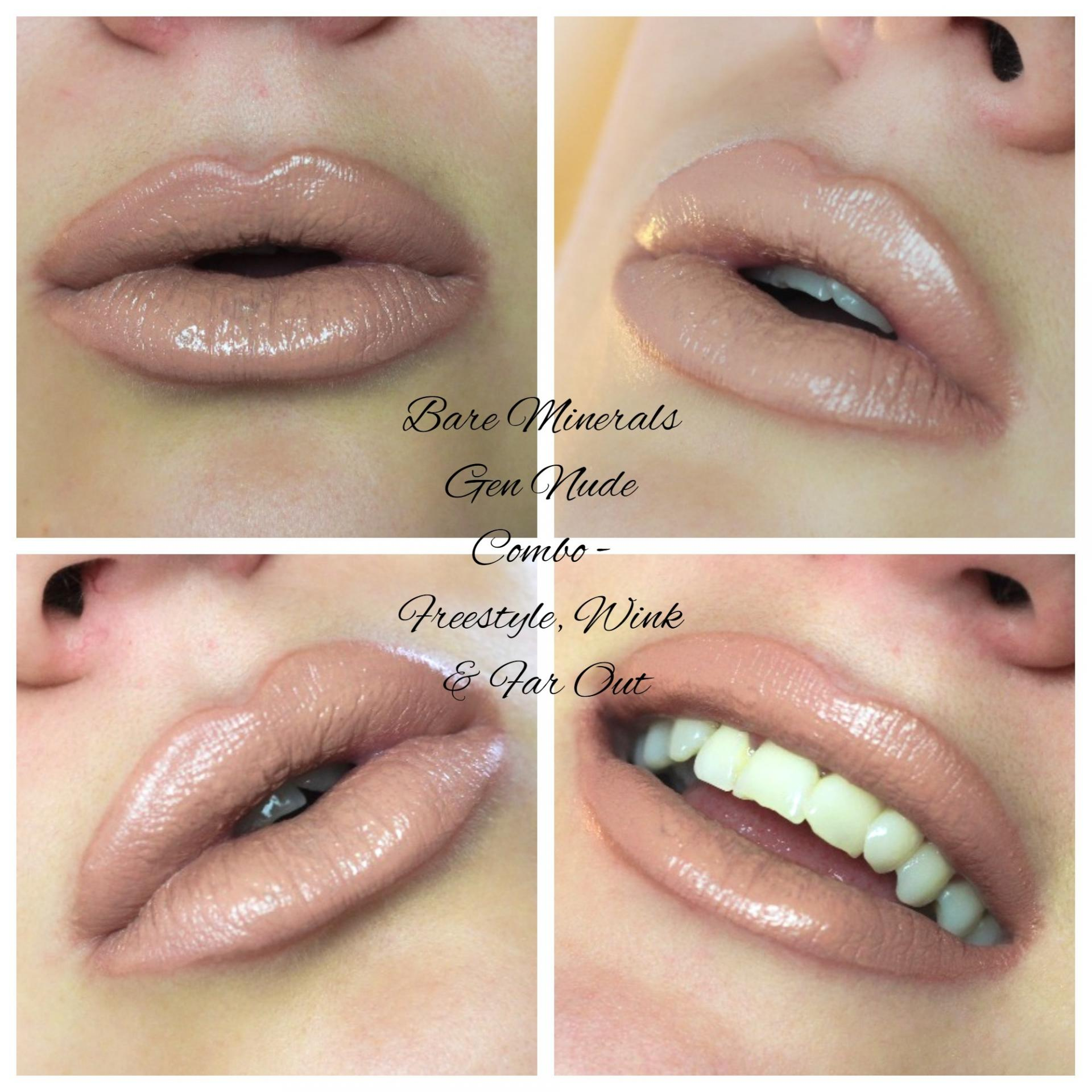 Bare Minerals Gen Nude Buttercream Lipgloss Matte liquid lipcolour