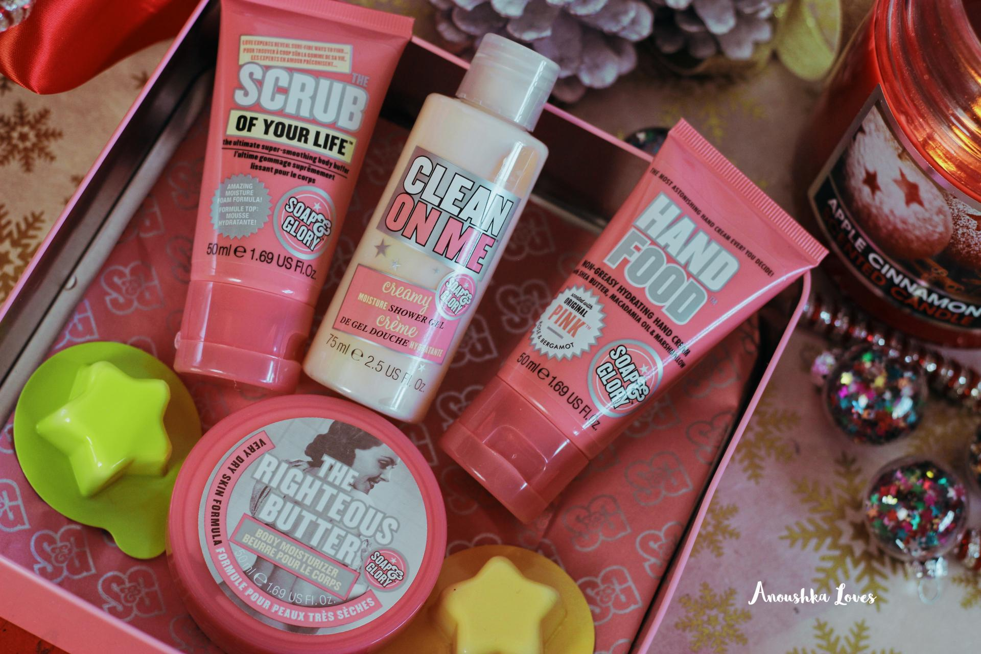 Soap & Glory Christmas Collection Soaper Heroes