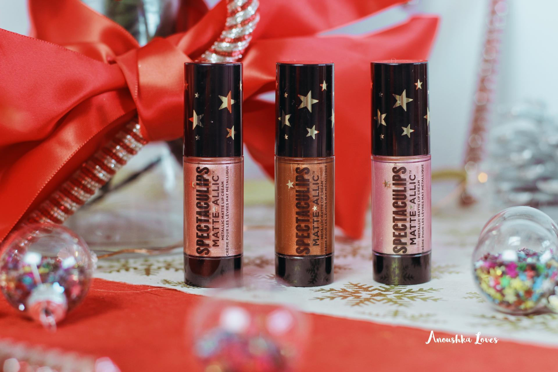 Soap & Glory Christmas Collection Matte-allics
