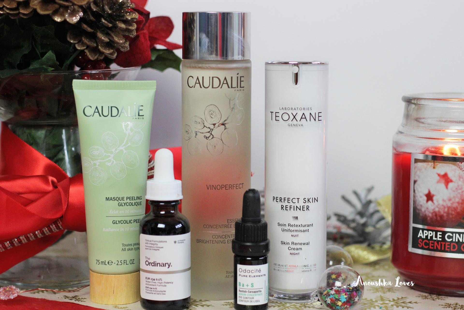 The Best of Skincare Caudalie Odacite The Ordinary Teoxane