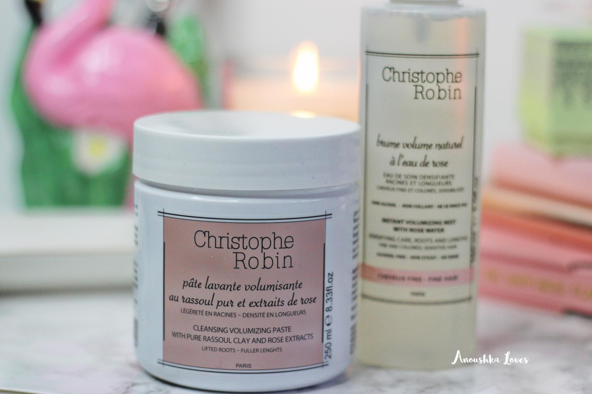 Christophe Robin Rose Haircare