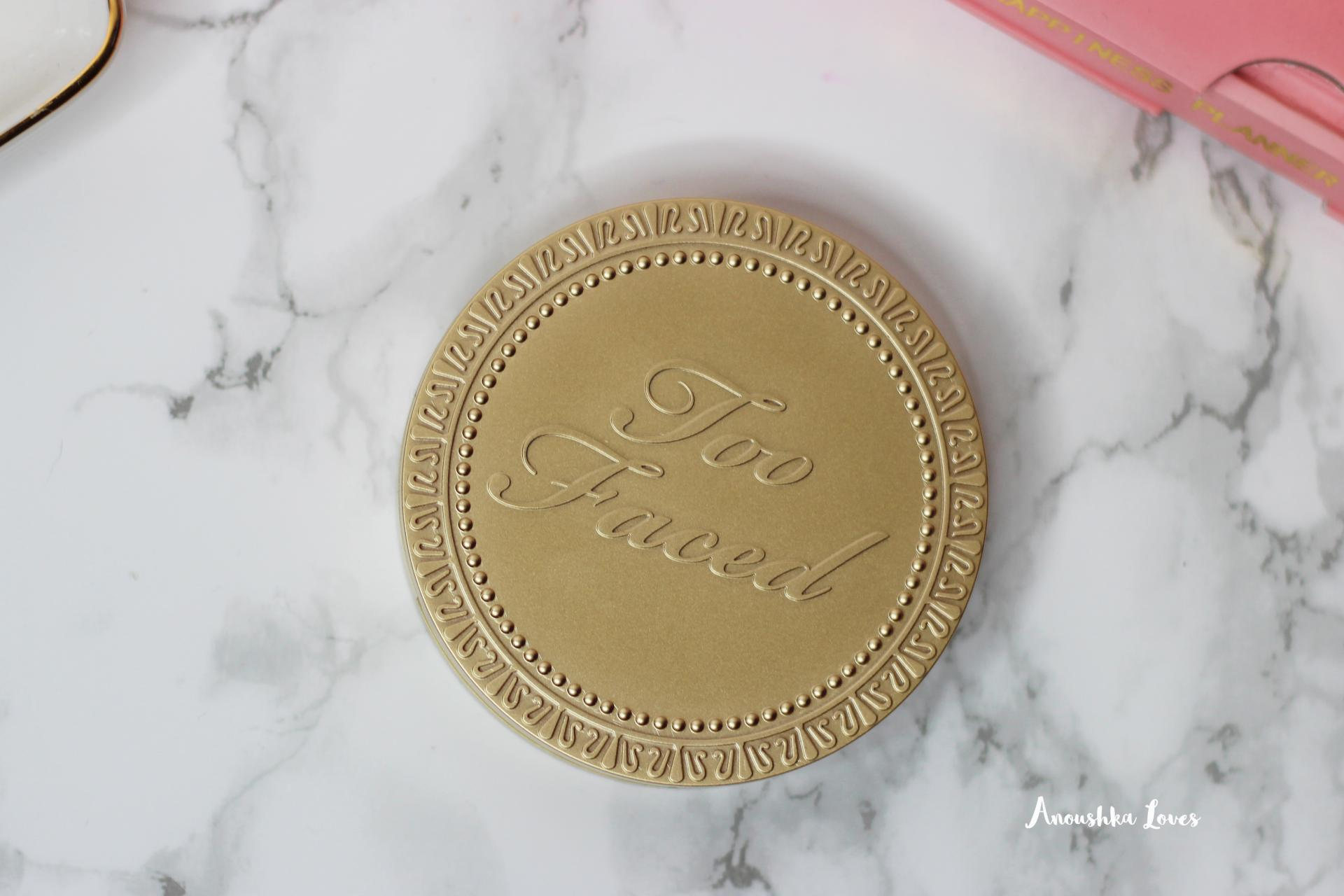 Too Faced Sun Bunny Bronzer gold packaging