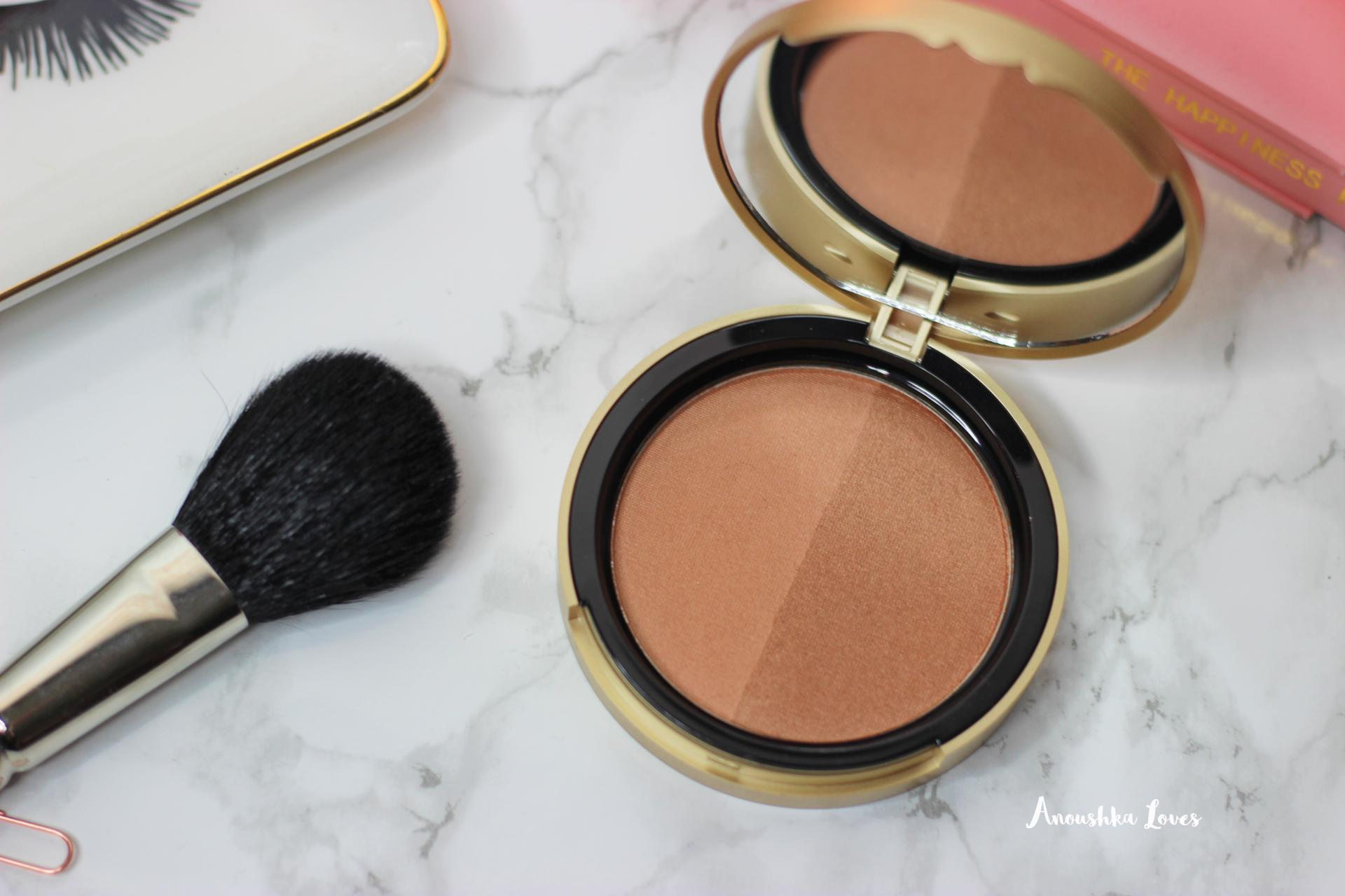Too Faced Sun Bunny Bronzer gold packaging inside product