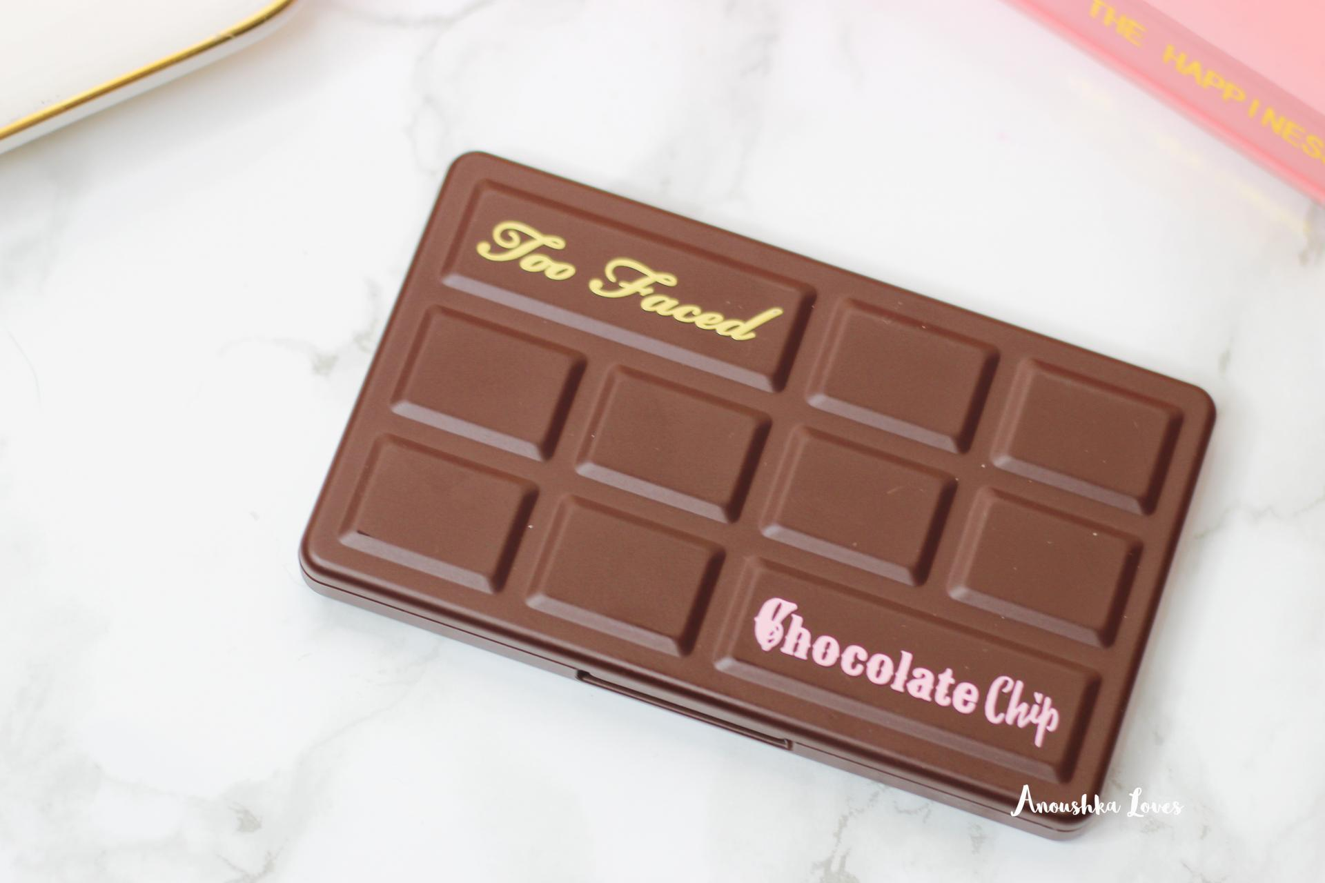Too Faced Matte Chocolate Chip palette closed