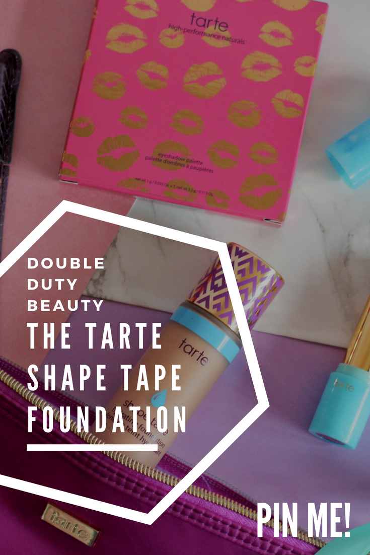 Tarte Shape Tape Hydrating foundation #tarte #shapetape #foundation #worththehype #newreleases #2018makeup #blogginggals