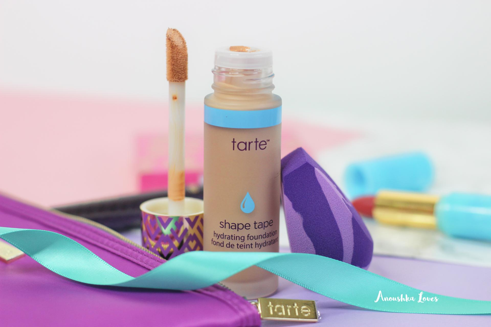The Tarte Shape Tape Foundation Collection at QVC