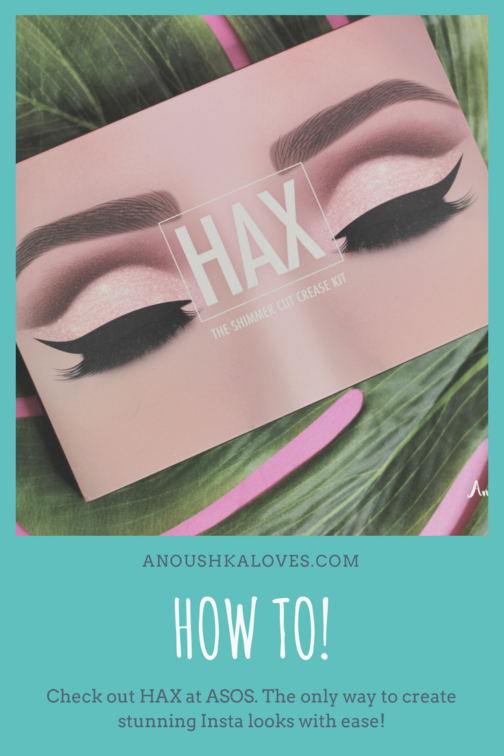 How To with ASOS HAX; #HAX, #Instamakeup, #instaworthy, #instabeauty, #glittercutcrease