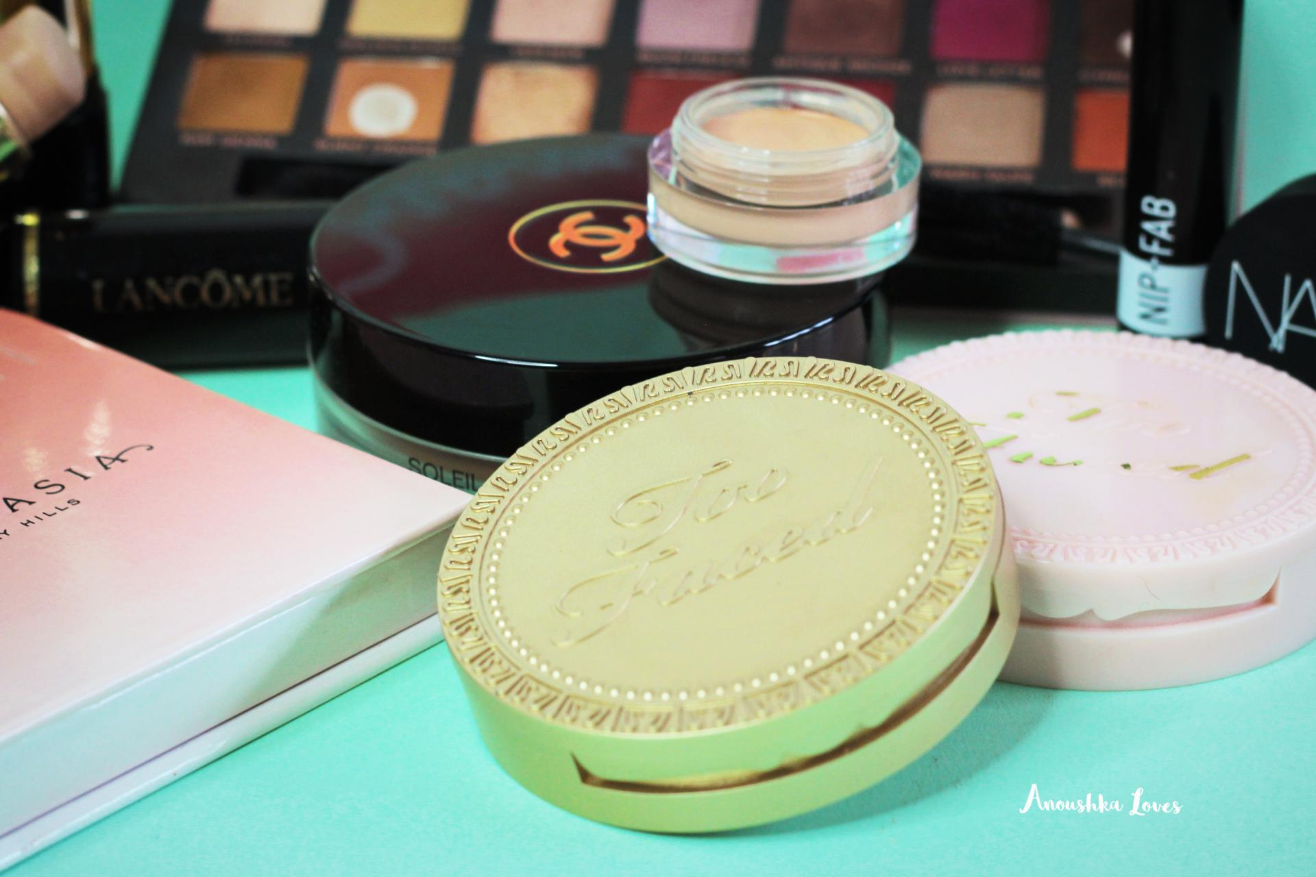 My Holy Grail of Makeup anastasia beverly hills nars soft matte lancome too faced
