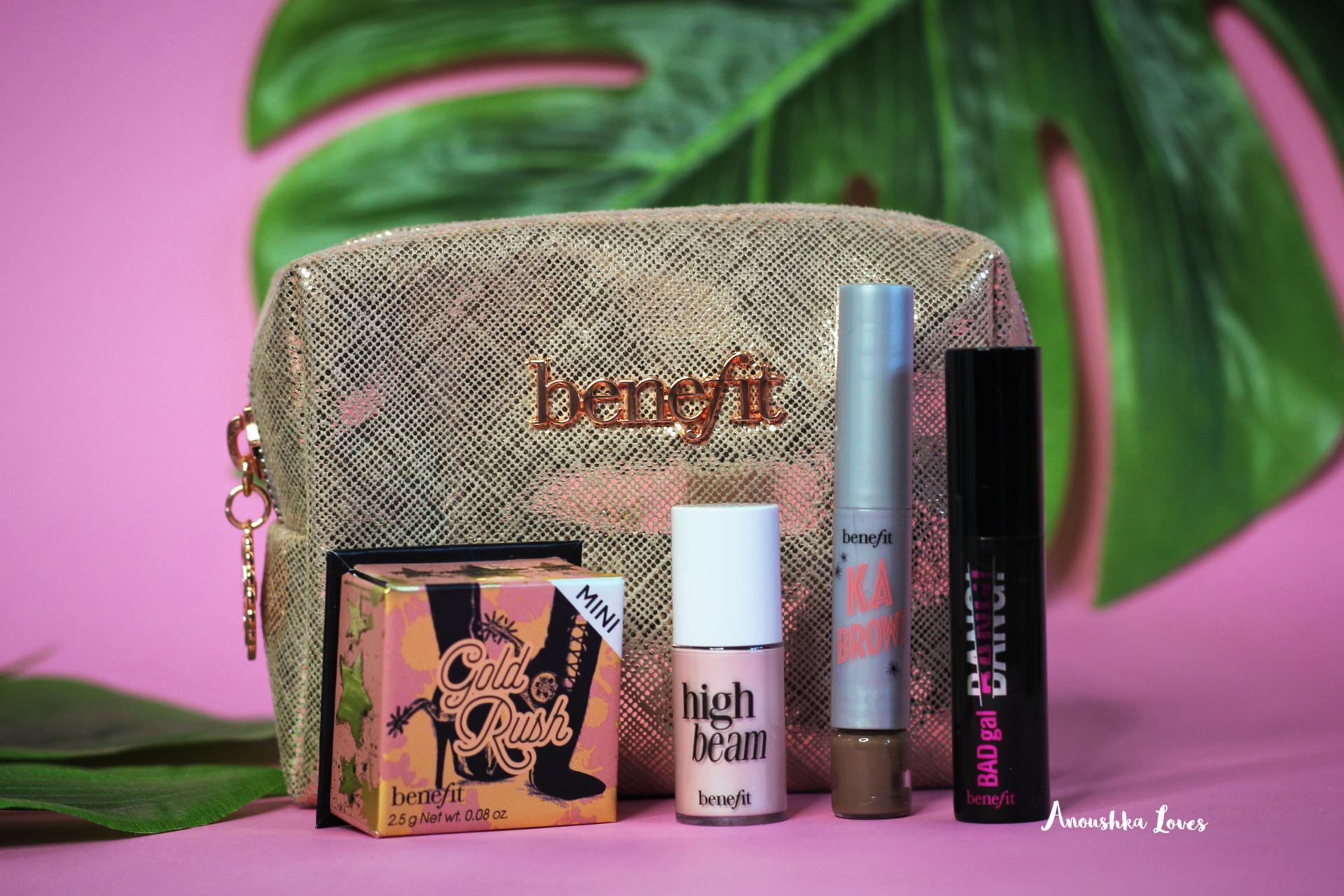Benefit mini kits hippie go lucky parisian pin up