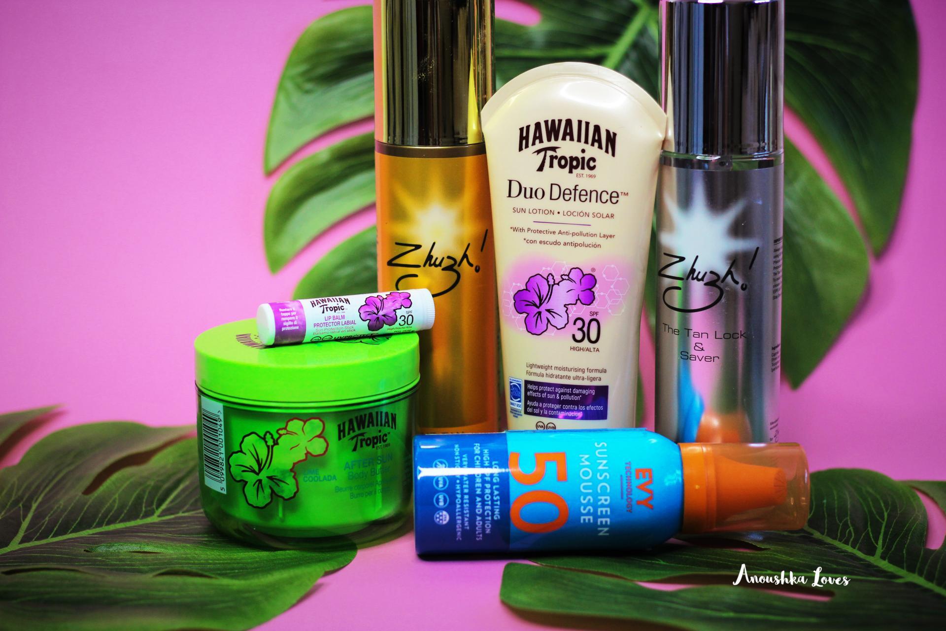 holiday suncare evo hawaiian tropic zshush